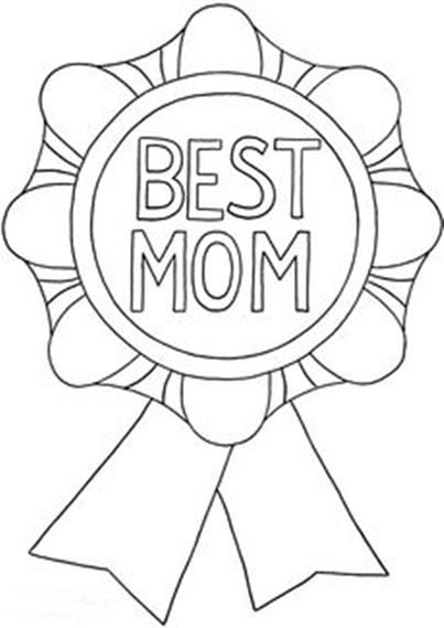 Mother S Day Flower Coloring Pages