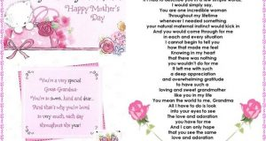Happy Mothers Day To My Grandma:- Quotes, Wishes & Messages