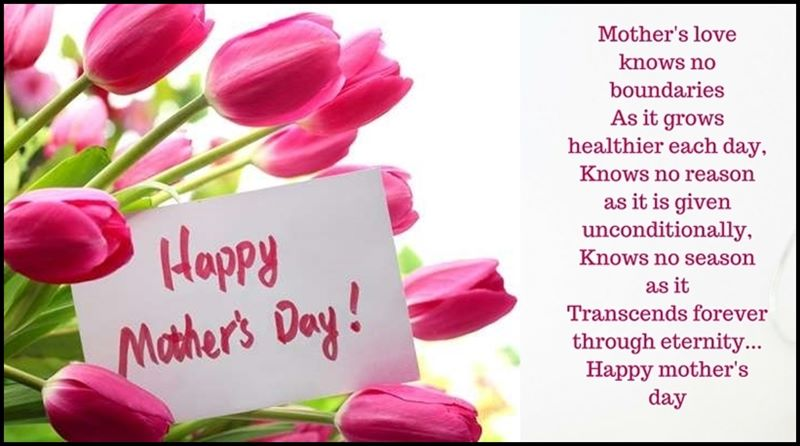 Mothers Day Message on Mothers Love