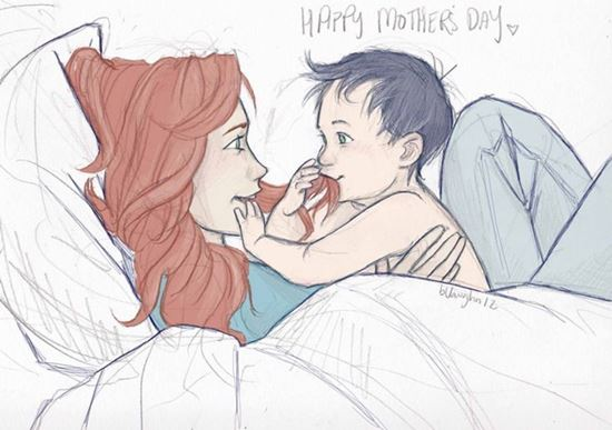 mothers-day-coloring-card