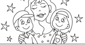 Free Printable Happy Mothers Day Coloring Pages, Sheets, Paintings