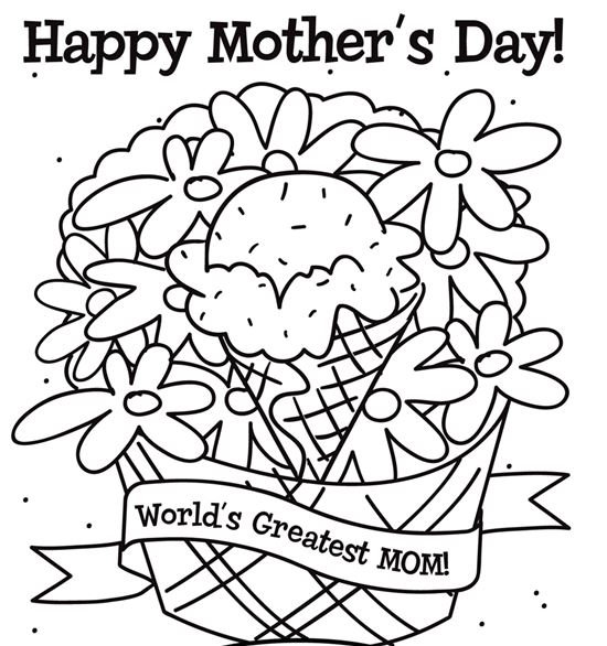 mothers day coloring pages6