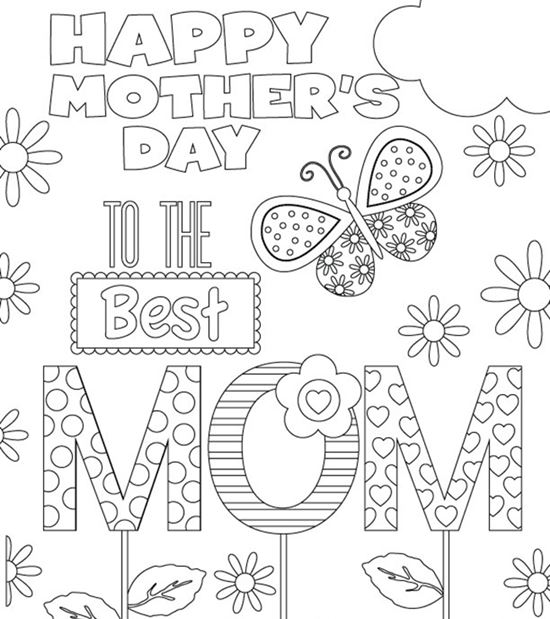 mothers day coloring pages7