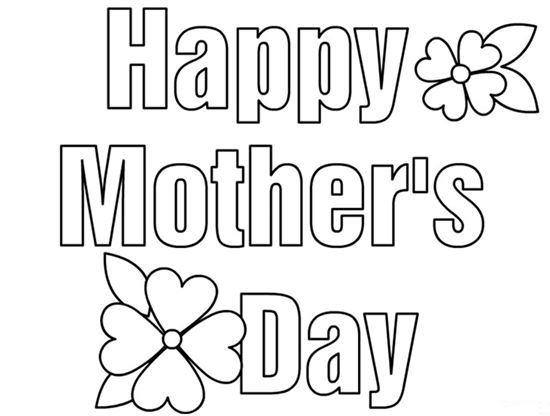 mothers day coloring sheet2