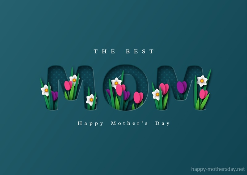 The best mom happy mothers day image