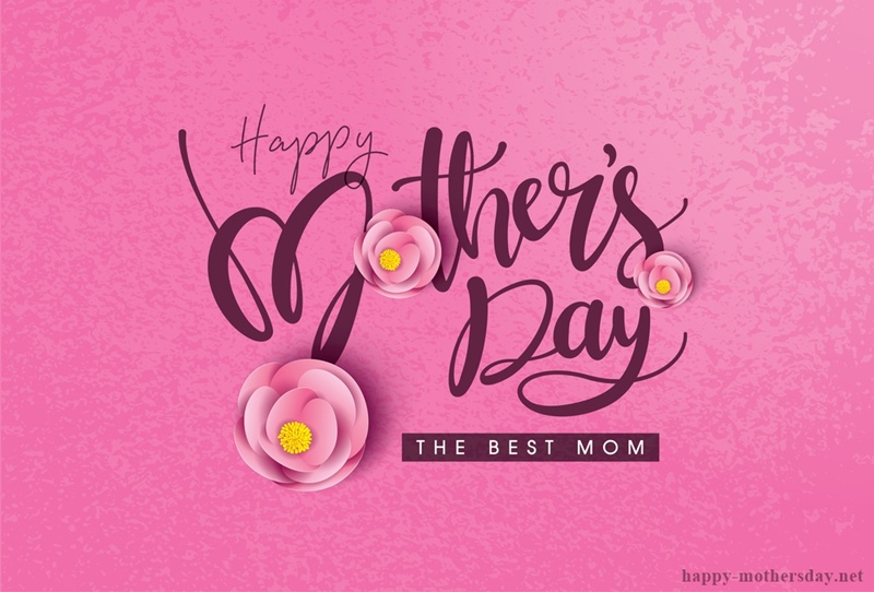 happy mothers day the best mom image